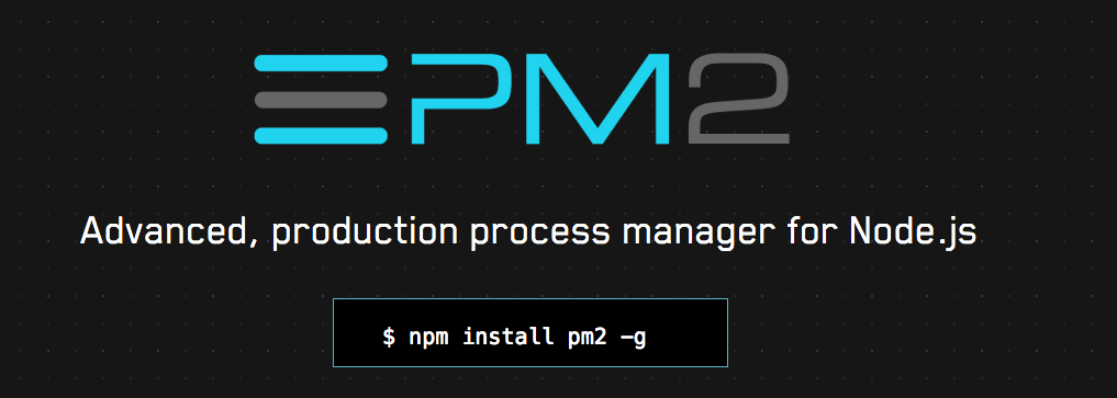 Using PM2 to restart Node js after file changes and server reboots