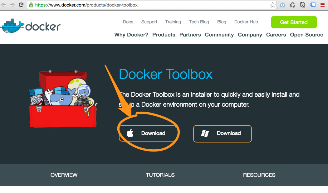 Docker Toolbox Download
