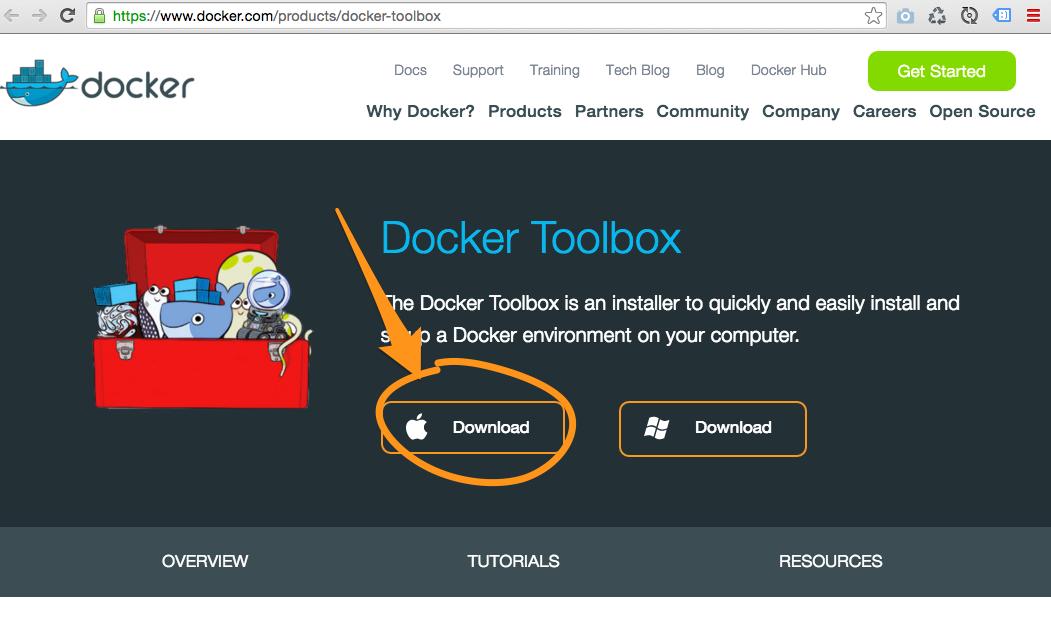 Docker Toolbox Download
